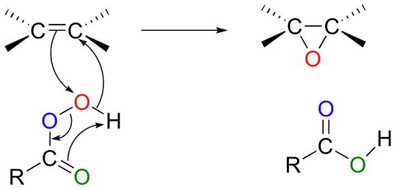 formazione di epossidi