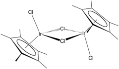 iridio pentametilciclopentalienil dicloruro