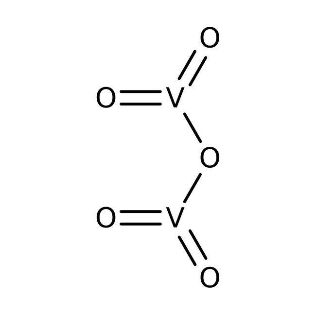 struttura ossido di vanadio