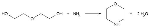 sintesi morfolina