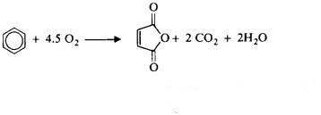 sintesi anidride maleica dal benzene