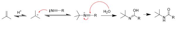 meccanismo reazione di Ritter