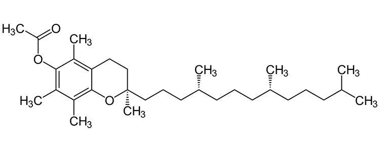 Tocoferolo acetato