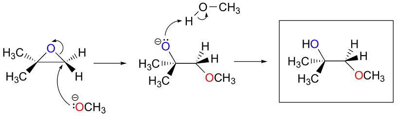 attacco nucleofilo